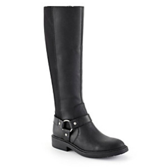 Nine West Shoes - Nine West Casual Tall Boots Black 9.5 Buckle